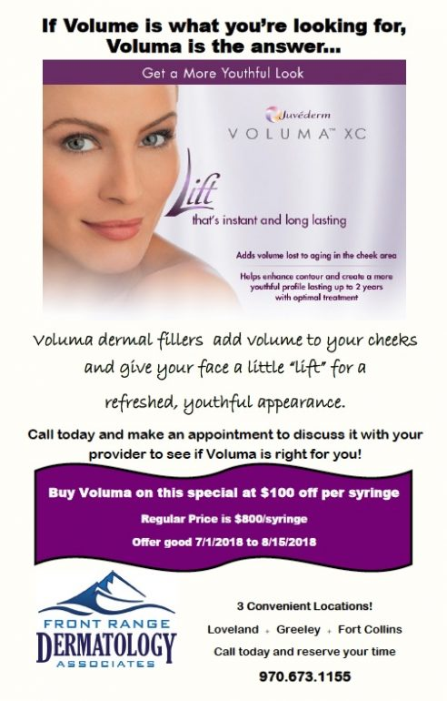 Juvederm Voluma July Special