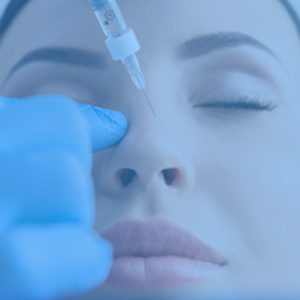 botox image with blue overlay