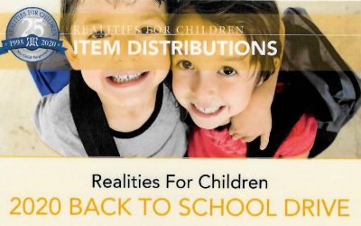 Realities For Children – 2020 Back To School Drive