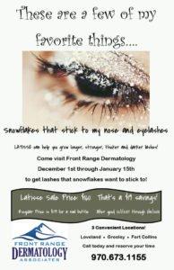 Litisse special at Front Range Dermatology