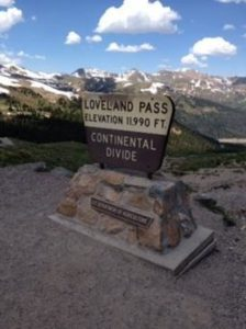 Loveland colrado pass