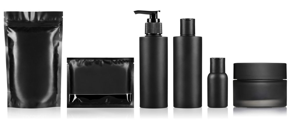 selection of skin care products for men without labels