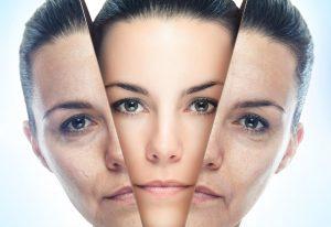 skin rejuvenation concept